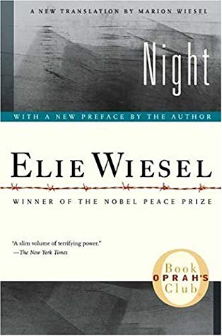 Elie Wiesel Night cover