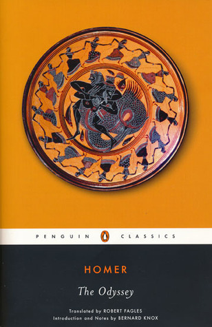 Homer The Odyssey cover