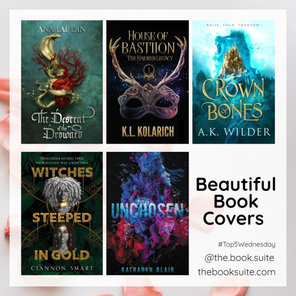 Graphic for beautiful book covers