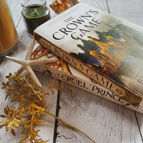 Stack of political fantasy books