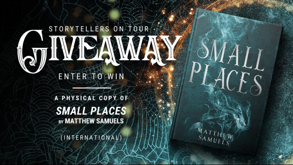 Small Places Book Tour Giveaway Poster