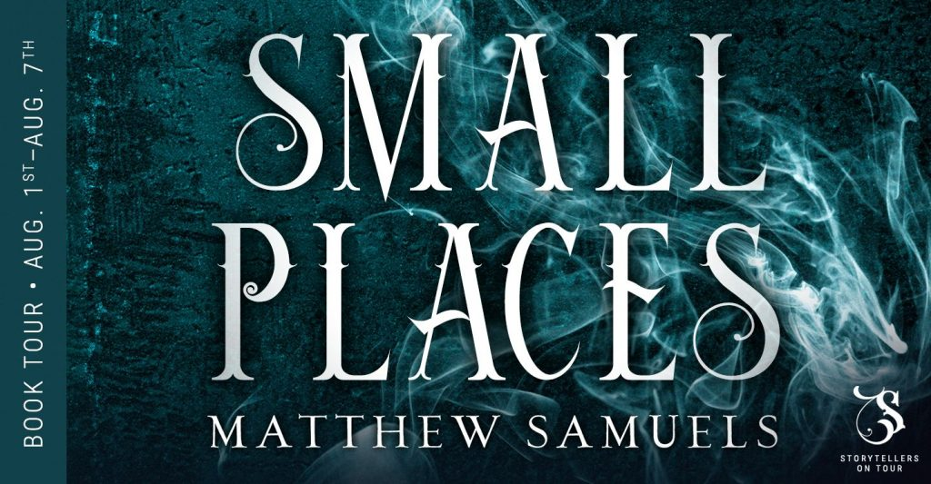 Small Places Book Tour Banner