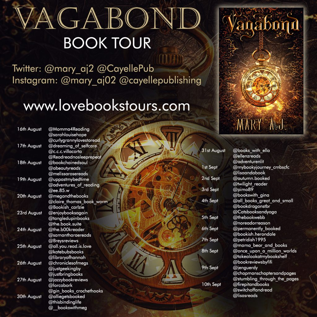 Vagabond Book Tour Poster