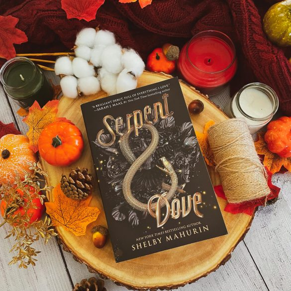 Witchy Book Serpent and Dove